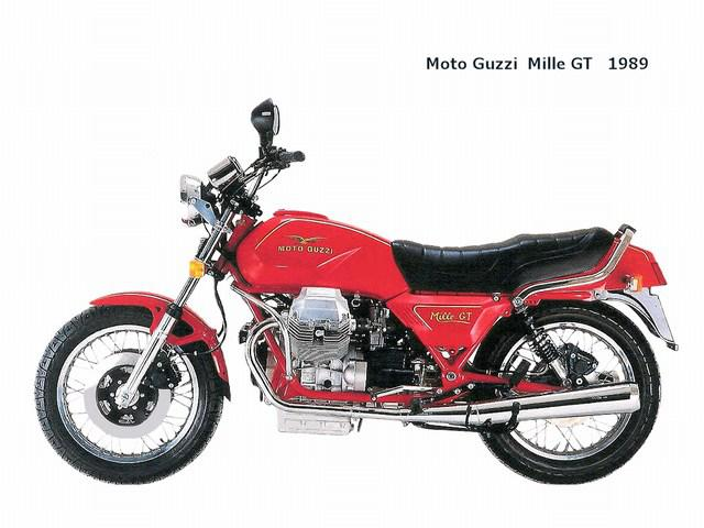 1989 moto guzzi mille gt 89. Black Bedroom Furniture Sets. Home Design Ideas
