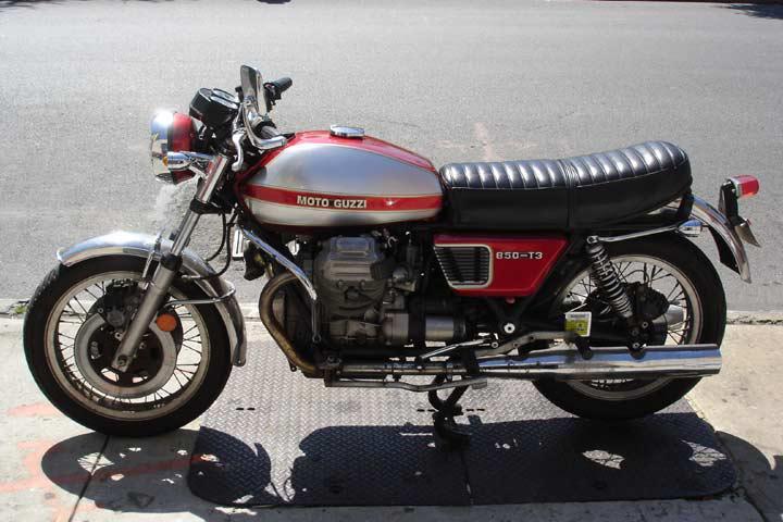 1978 moto guzzi 850 t t3 78. Black Bedroom Furniture Sets. Home Design Ideas